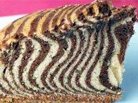 Торт Зебра - пошаговый рецепт с фото