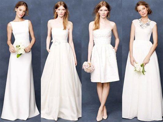 Какое лучше платье одеть на свадьбу