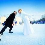 Одень на свадьбу девушку зимой