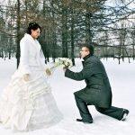 Что зимой одевать на свадьбу