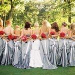 Как одеться невесте и подружкам на свадьбу