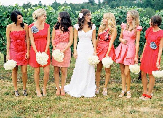 Наряды гостей на свадьбу фото