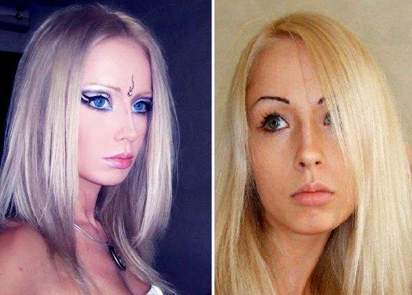 одесская барби до и после фото